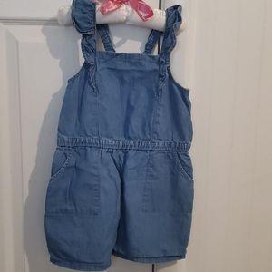 Sz. 5. Girls Shorts romper